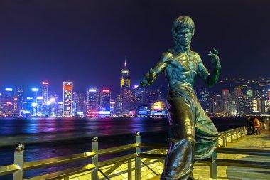 Bruce Lee Statue in Hong Kong