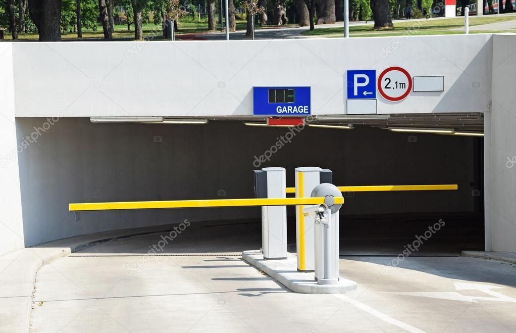 Parkoló kapuk — stock fotó majorosl