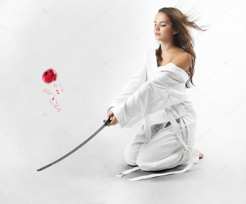 Sexy samurai women