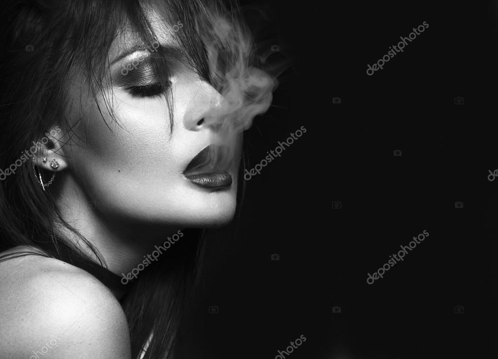 картинки дым изо рта