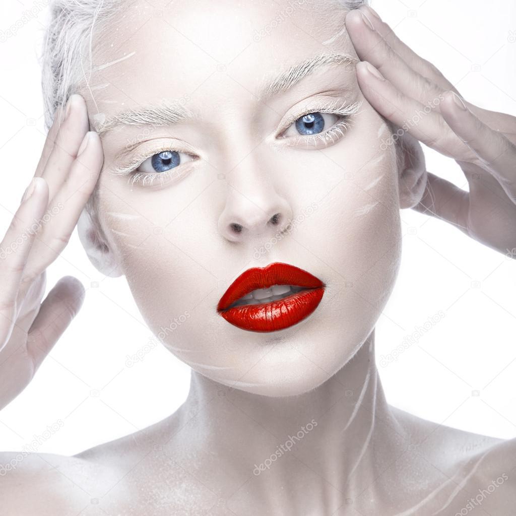 albino röda ögon