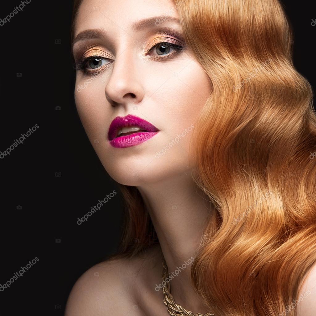 rote haare locken