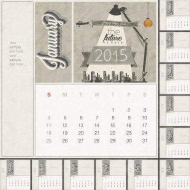 2015 Monthly calendar