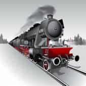 Fotografie Steam train