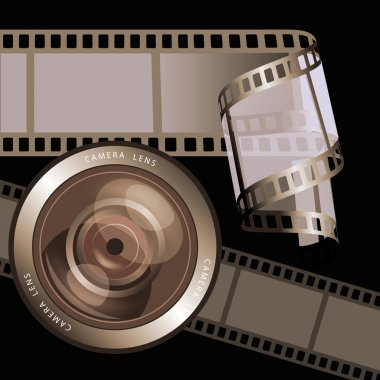 Film strips and lens