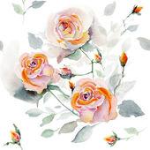 Varrat nélküli mintát rózsaszín rózsa
