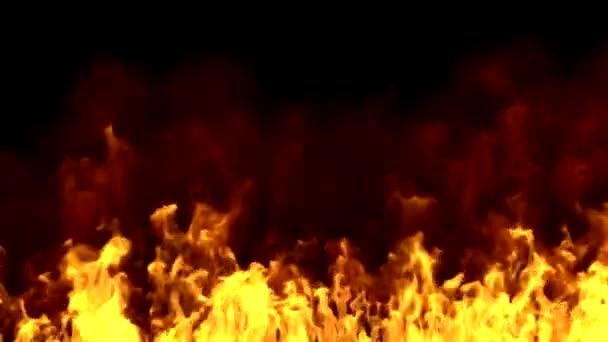Realistický oheň animace