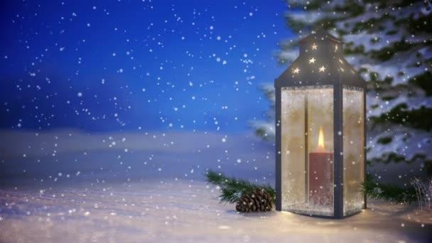 Vid - karácsonyi lámpa