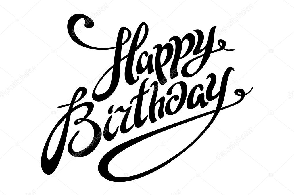 Happy Birthday Cake Stencil Free