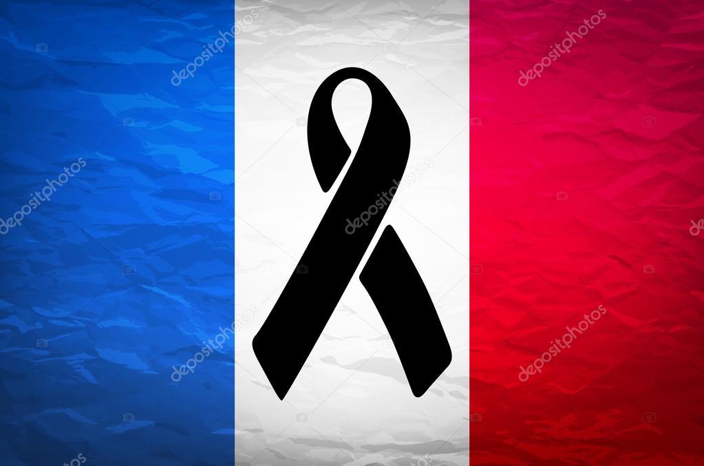 Frankreich Trauer
