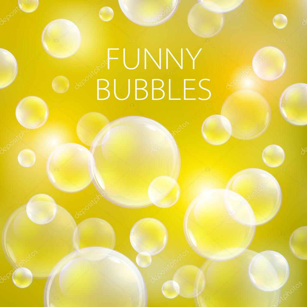 Soap bubble background download free vector art stock graphics - Abstract Soap Bubbles Vector Background Transparent Circle Sphere Ball Water Sea And Ocean Pattern Illustration Art Vector By Romanchik Ruslan Gmail