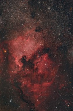 nebula in the sky background