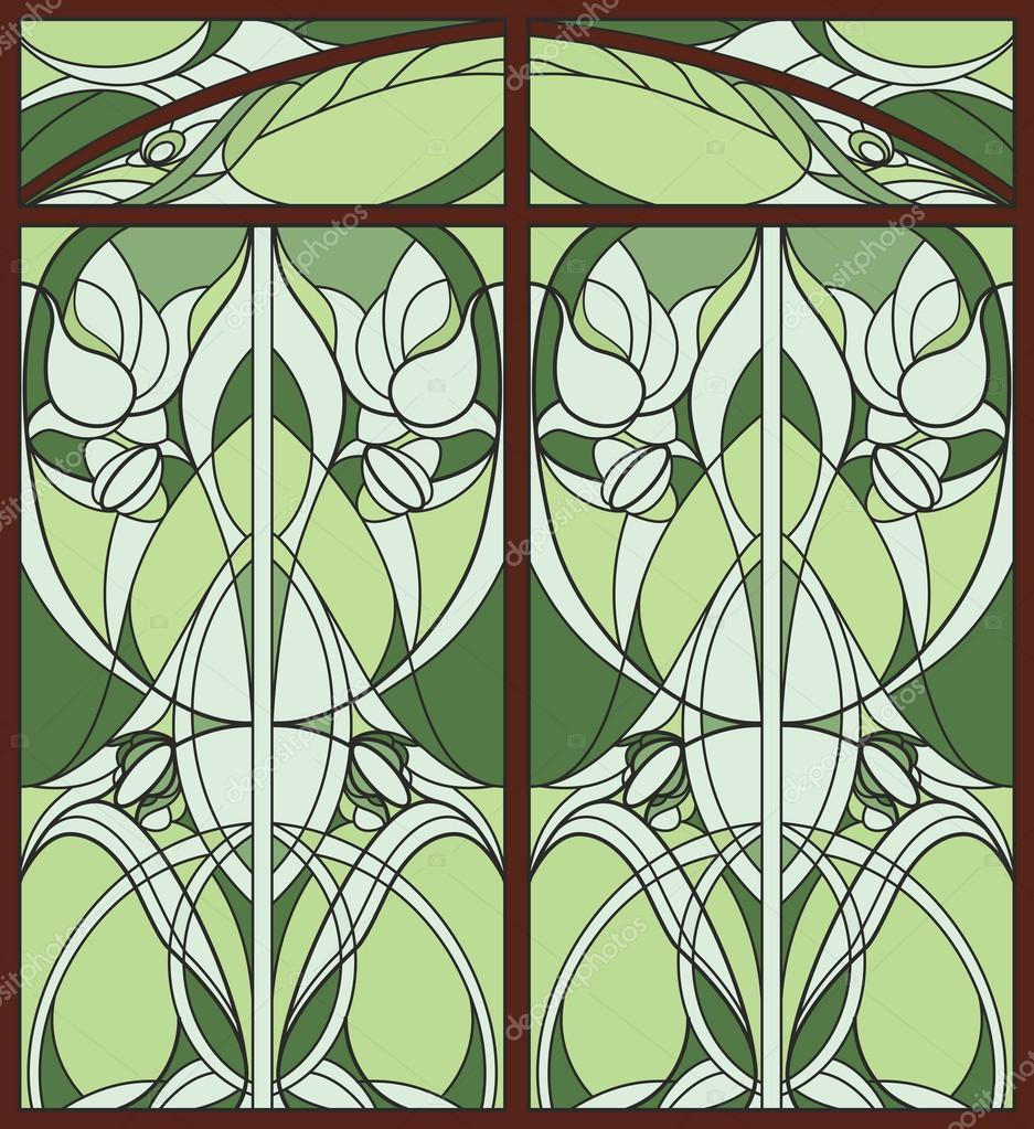 ventana vidriera — Fotos de Stock © allween #58658485