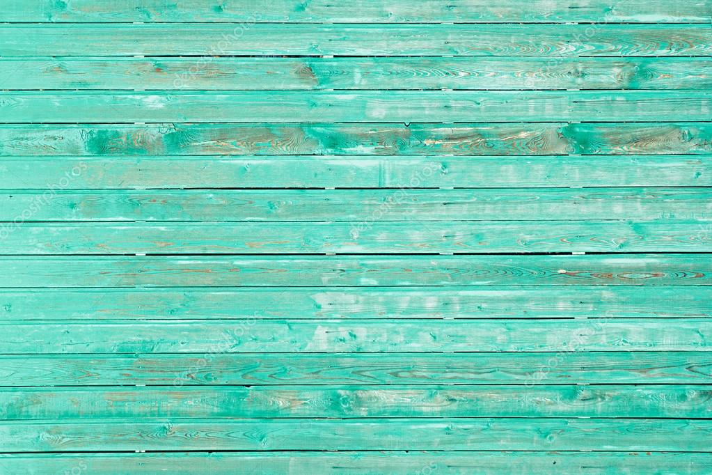 Vintage Mint Green Wooden Background Old Weathered Green