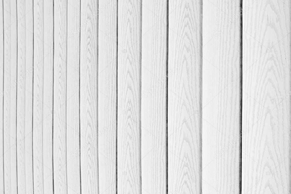 White Wooden Background. Vertical Boards. Wood Texture