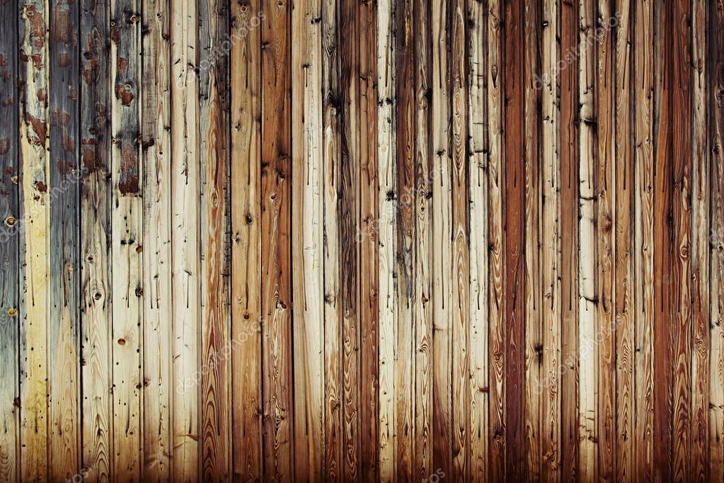 Vintage Brown Wooden Background. Warm Brown Old Boards