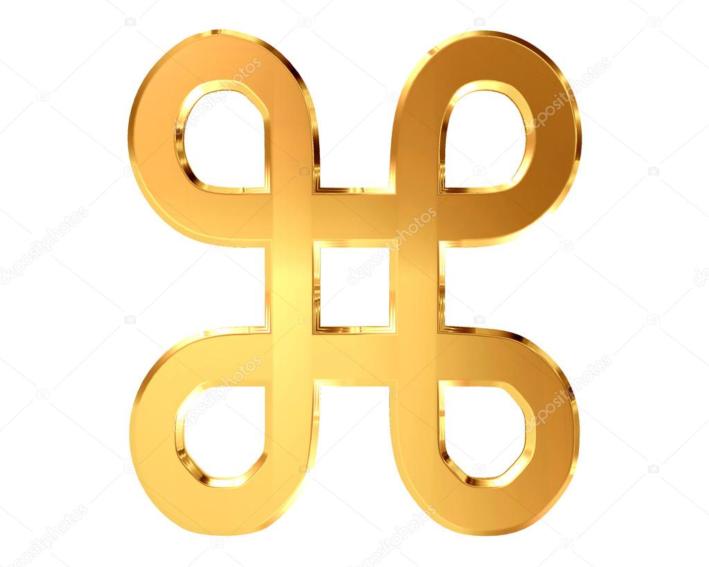 Symbol attraction in Unicode table on a white background Stock