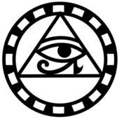 Fotografie Egyptian eye of horus icon vector