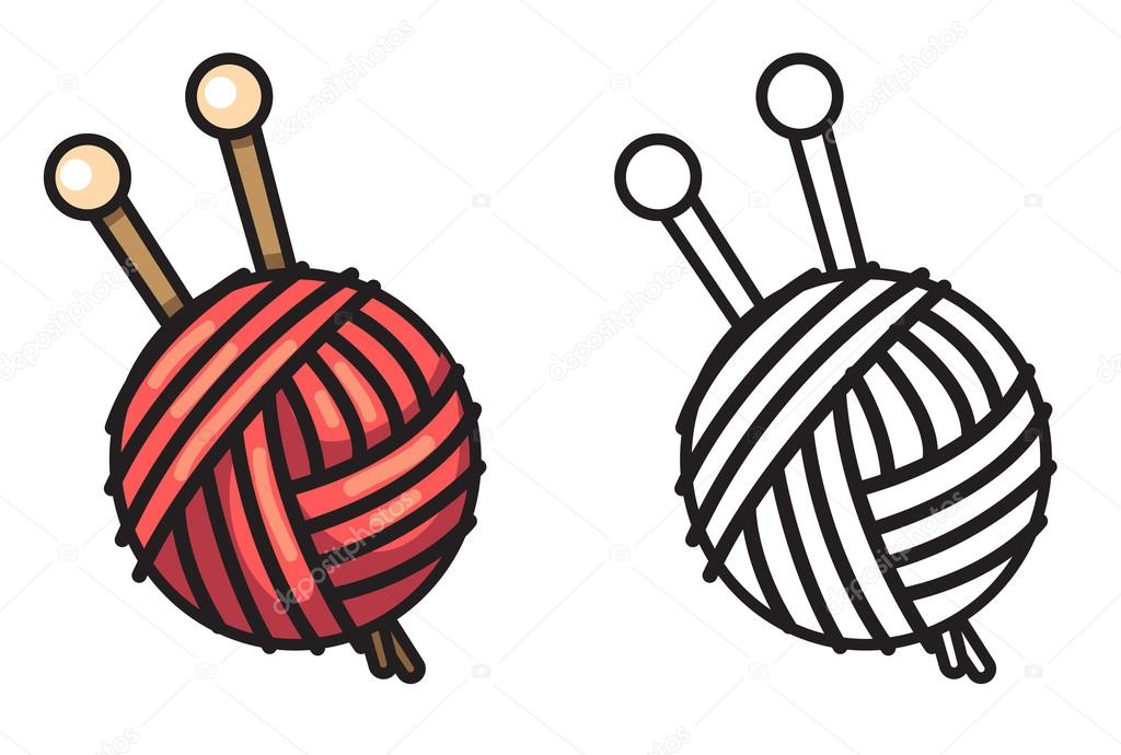 yarn coloring printable - 1024×690