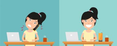 Best and worst positions for talking via smart phone