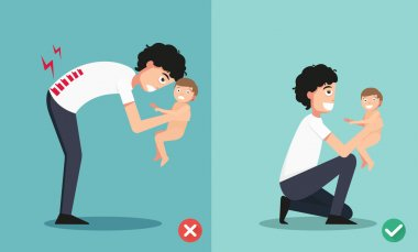 Best and worst positions for holding little baby