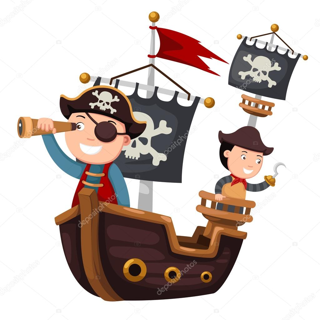 pirate ship vector stock vector jehsomwang 86796164 rh depositphotos com pirate ship vector free download pirate ship vector drawing