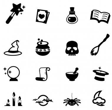 Magic icon vector