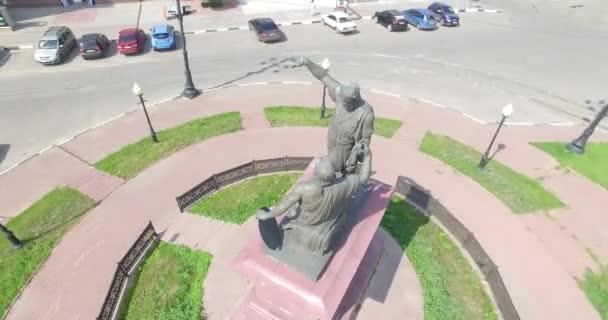 Pomník Kozma Minin a Dmitrije Požarského v Nižnij Novgorod, Rusko