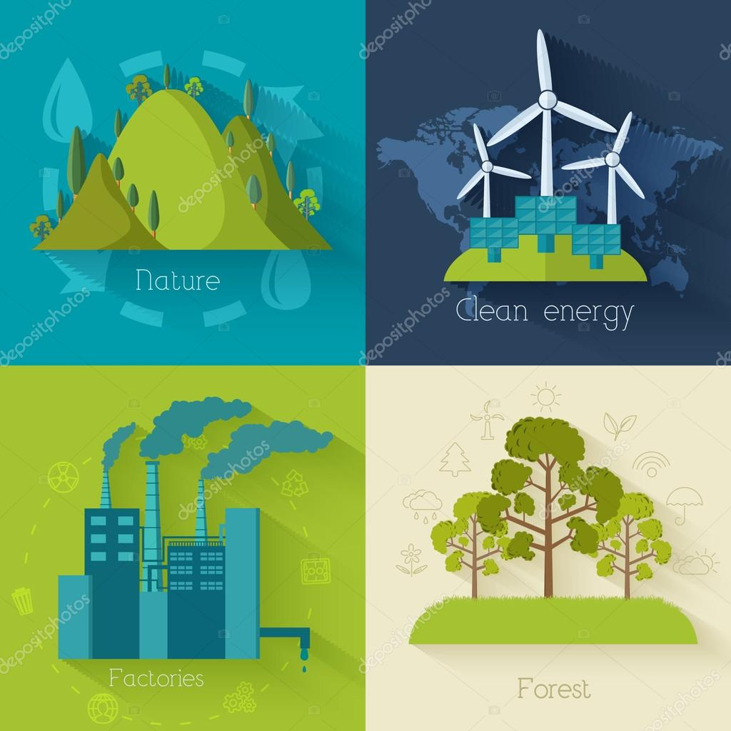 Ecology, environment  backgrounds