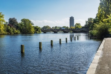 London landscape from Hyde Park