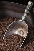 Fényképek Lapát gyűjtése szemes kávé