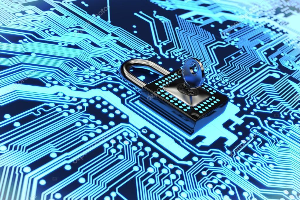 Circuito Eletronica : Proteger o circuito eletrônico renderização em d