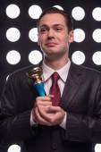 Atraktivní hvězda televizní moderátorka