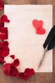 Fotografie St. Valentines Day love message