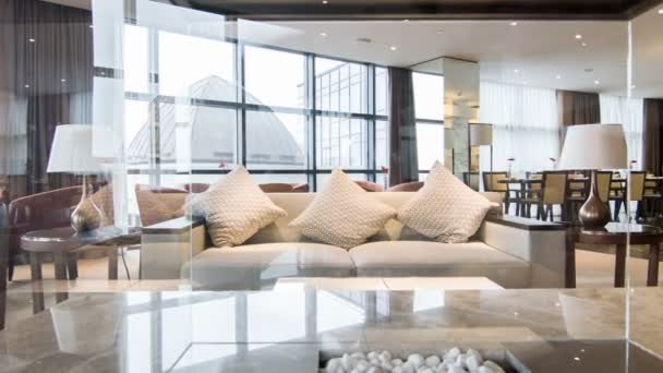 Interiér pěkný konferenční místnost v hotelu