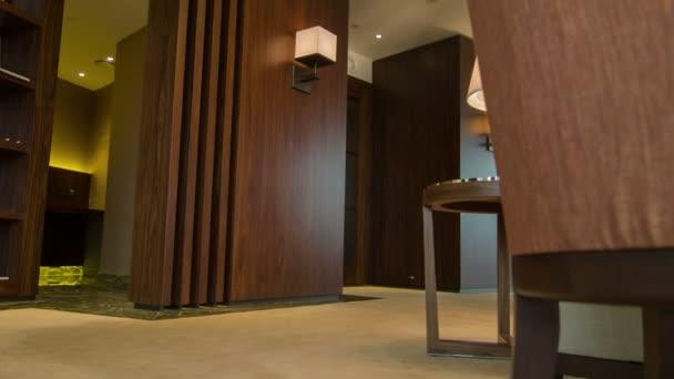 interiér pokoje v hotelu