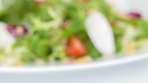 Velmi chutné vaření čerstvý salát