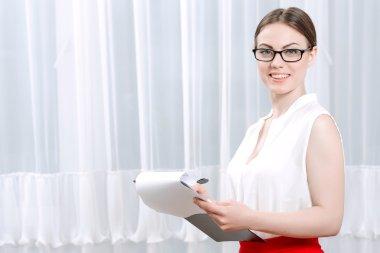 Portrait of a woman psychologist