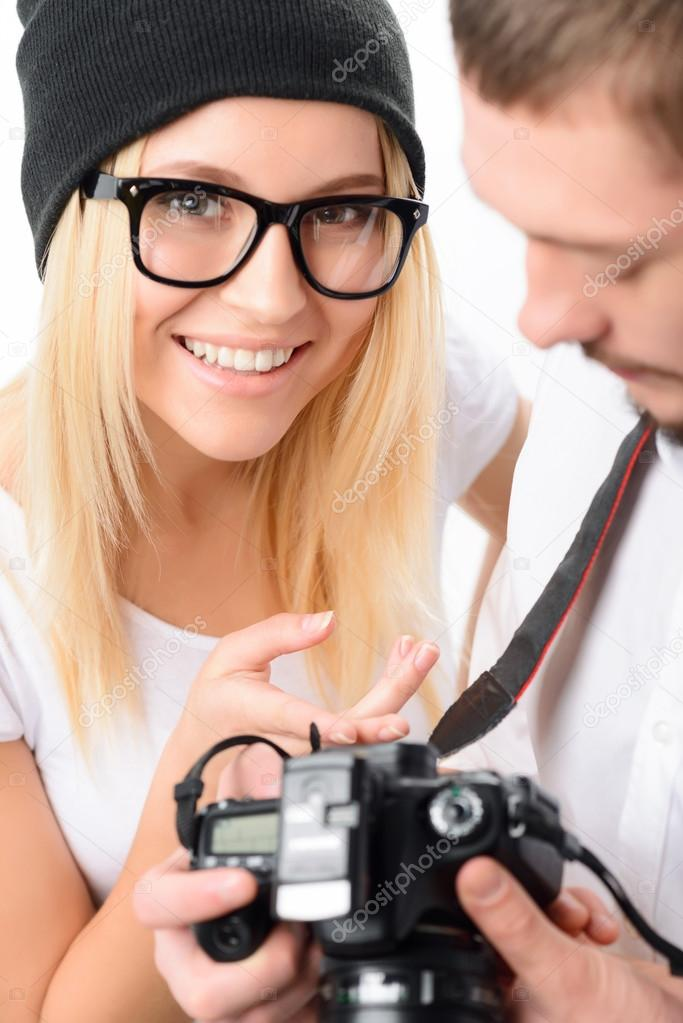 Photographer and his model