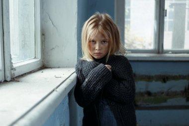 Depressed poot girl