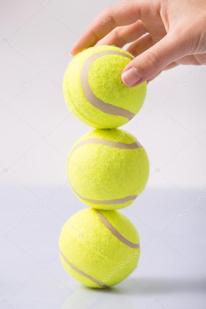 Partita di tennis making