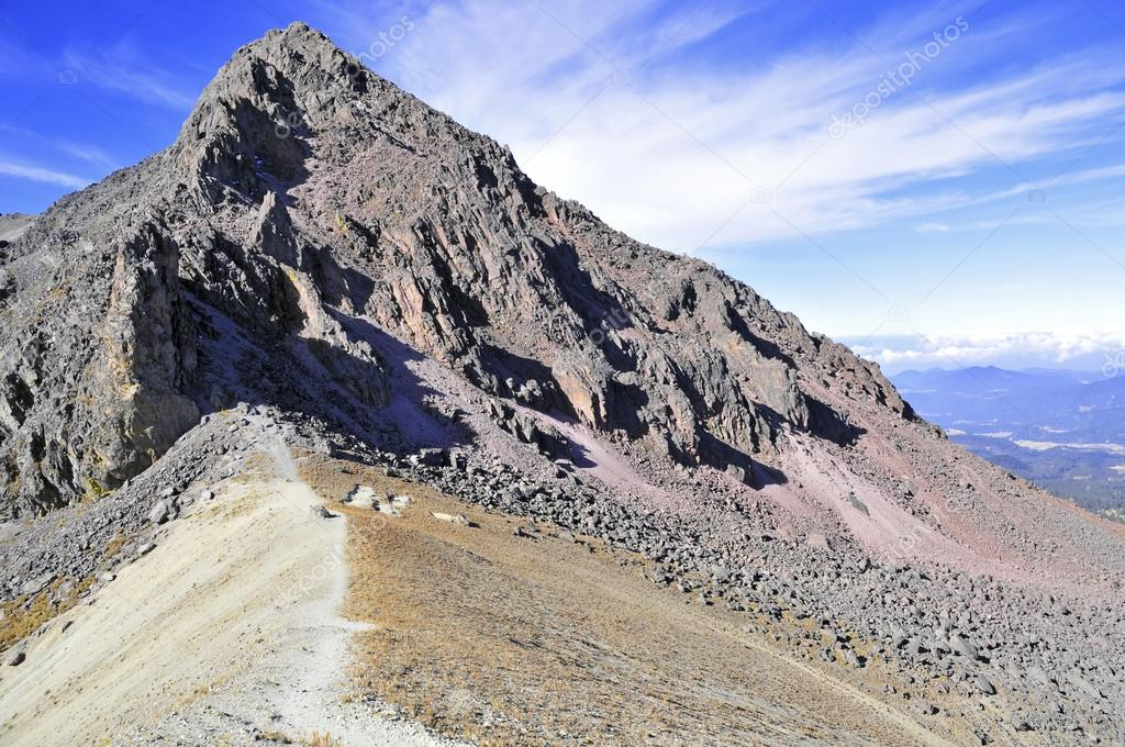 Nevado de Toluca volcano in the Trans-Mexican volcanic belt, Mexico