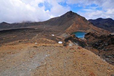 Volcanic terrain Tongariro National Park, New Zealand