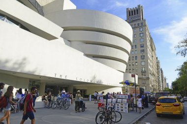 The Guggenheim Museum in the Upper East Side of Manhattan