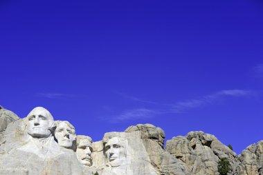 Mount Rushmore National Memorial, symbol of America located in the Black Hills, South Dakota, USA.