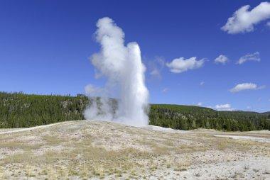 Old Faithful Geysrer eruption, Yellowstone National Park