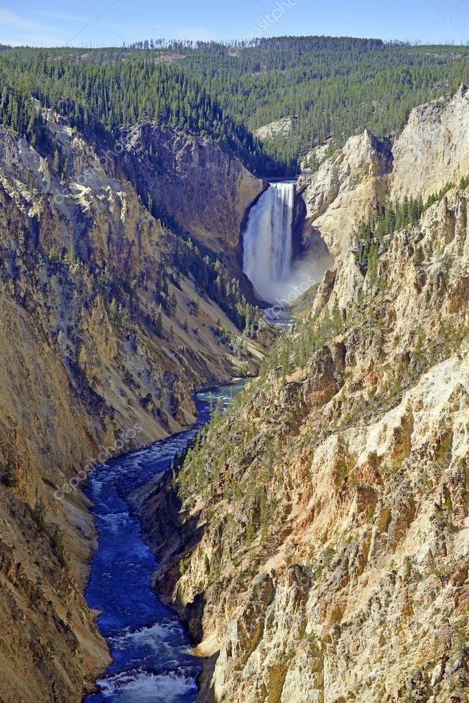 Yellowstone Falls, Grand Canyon of the Yellowstone