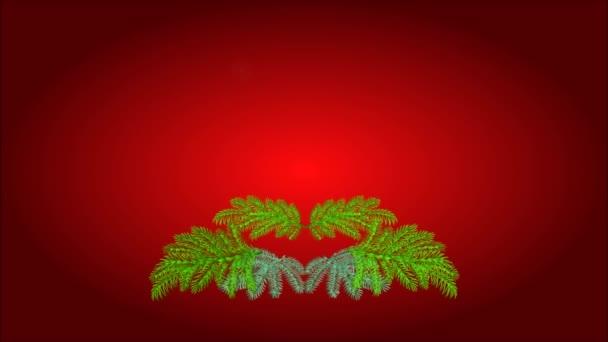 Vánoční dekorace adventní věnec s ovocem video