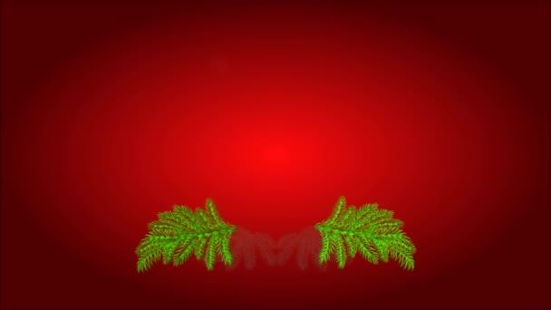 Weihnachten Advent Kranz Kerze mit video weiß Weihnachtsstern und Pinien-Zapfen