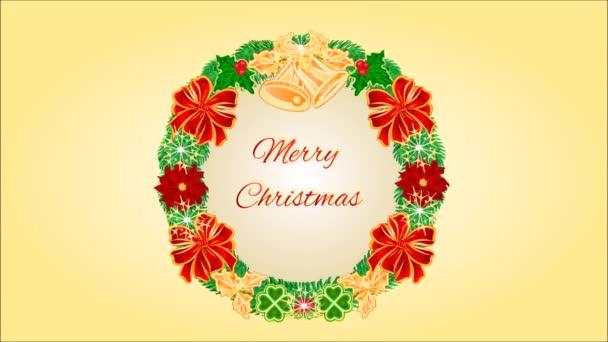 Veselé Vánoce čtyři adventní věnce video